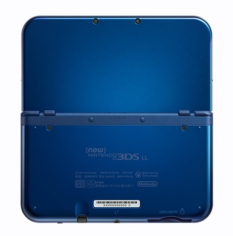 New Nintendo 3DS | Back