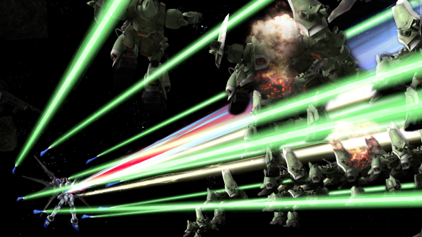 Dynasty Warriors: Gundam Reborn | Laser