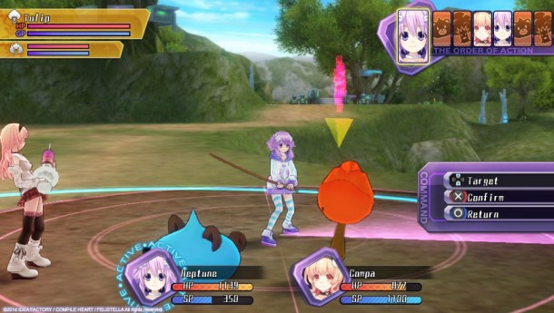 Hyperdimension Neptunia Re;Birth1 | Enemy