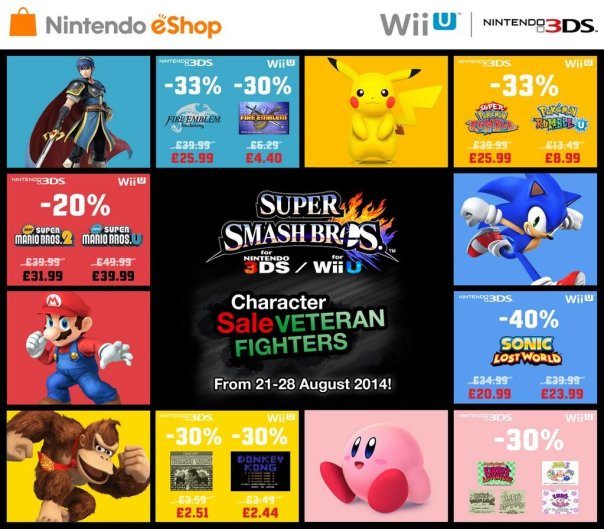 Fire Emblem | Nintendo of Europe Super Smash Bros. Veteran Sale