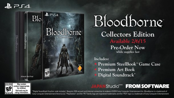 Bloodborne - Collector's Edition | oprainfall