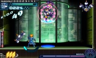 Azure Striker Gunvolt | Carrera Fight