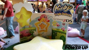 Kirby Triple Deluxe Booth