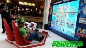 Luigi getting ready for Luigi Kart 8 finals!