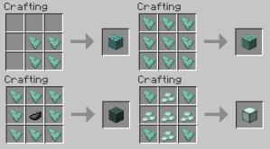 Minecraft 1.8 - Prismarine Block Crafting