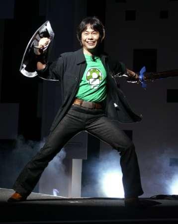 Shigeru Miyamoto at Nintendo's E3 2004 Presentation