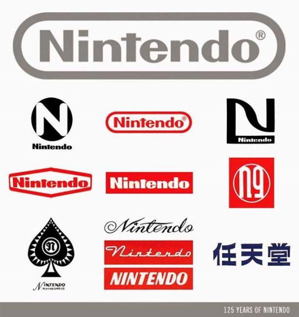 Nintendo - Logos | Nintendo 125th Anniversary