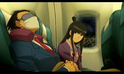 Professor Layton vs Phoenix Wright Ace Attorney | Phoenix and Maya