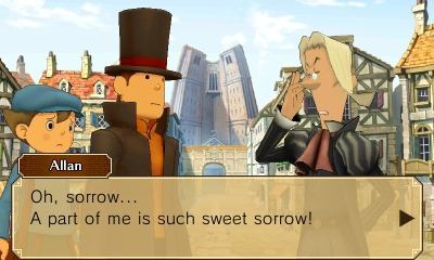 Professor Layton vs Phoenix Wright Ace Attorney | Puns