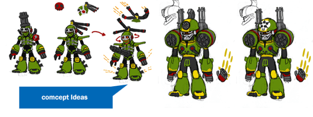 Mighty No. 9 | Concepts