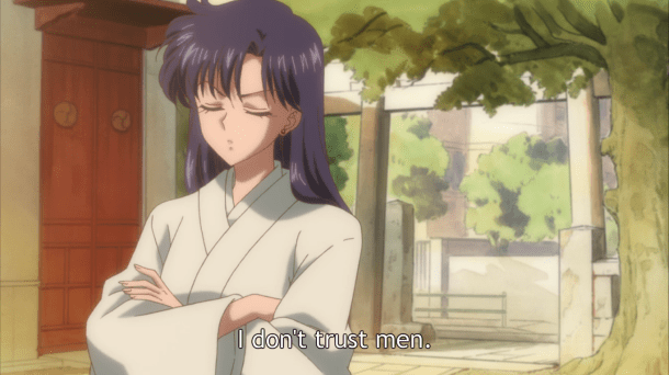 Sailor Moon Crystal Episode 5 | Rei Doesn't Like Men