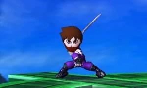 Smash Bros Mii fighter | Strider 1