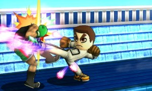 Smash Bros Mii fighter | Kunio 1