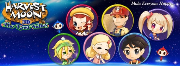 Harvest Moon The Lost Valley Banner