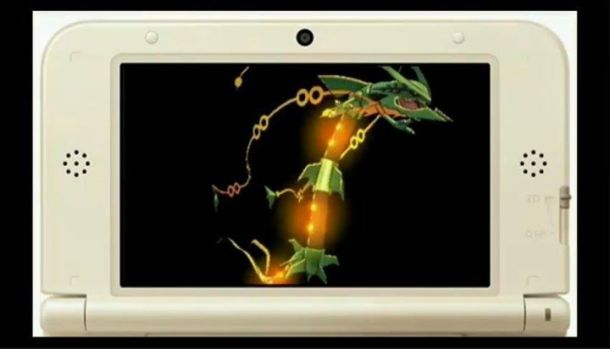 Pokemon Omega Ruby and Alpha Sapphire - Mega Rayquaza Screenshot