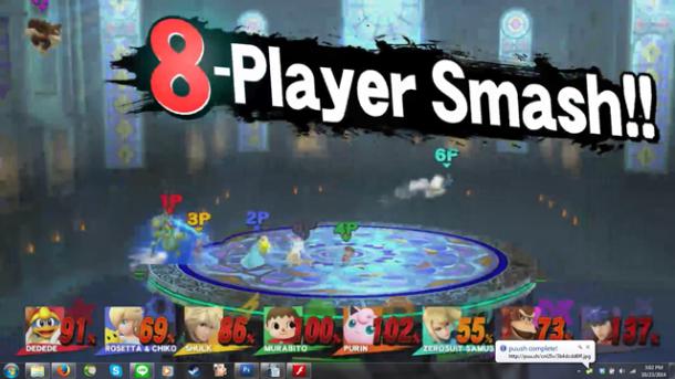 Smash Bros. Direct | 8-Player Smash!!