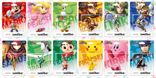 amiibo First Batch | Super Smash Bros. Dated for West
