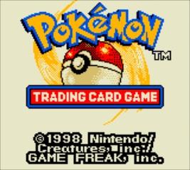 Pokemon Trading Card Game - Title