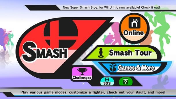 Smashing Saturdays - Super Smash Bros.   Wii U Menu