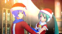 Hatsune Miku: Project Diva F 2nd | Santa Miku