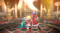 Hatsune Miku: Project Diva F 2nd | Miku Santa