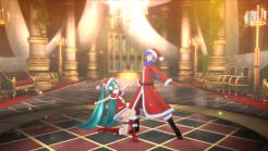 Hatsune Miku: Project Diva F 2nd   Miku Santa