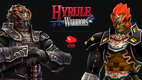 Hyrule Warriors - Twilight Era Ganondorf and Hero of Time Era Ganondorf