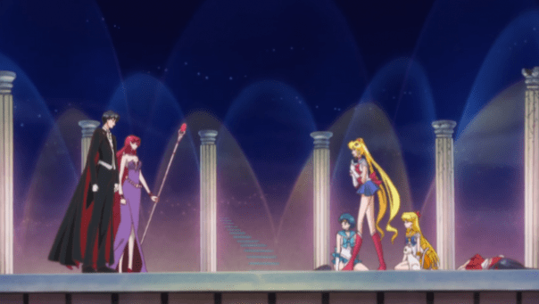 Sailor Moon Crystal Act.11 | Queen Beryl and Endymion