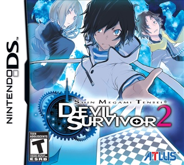 SMT: Devil Survivor 2 - Box Art