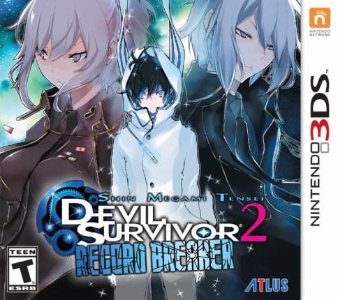 SMT: Devil Survivor 2 Record Breaker - Box Art