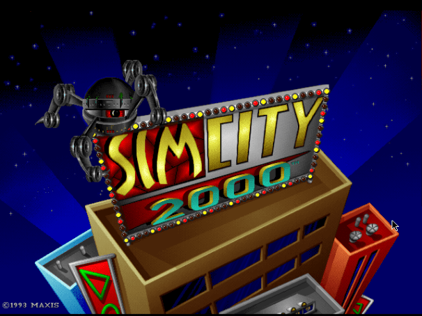 SimCity 2000 Title Screen