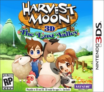 Harvest Moon: The Lost Valley | Cover