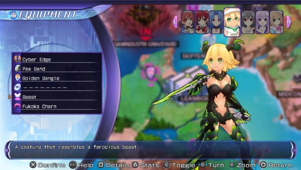 Hyperdimension Neptunia ReBirth2 | CyberConnect2 Beast