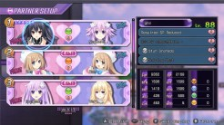 Neptunia Re;Birth1 PC Screenshot | Status Screen