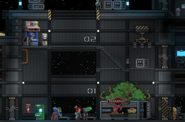 The Central Outpost | Starbound