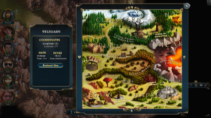 Lords of Xulima   Map Screen