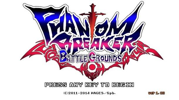 Phantom Breaker Battlegrounds | press start