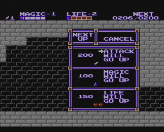 Zelda II: Adventure of Link | Level Up
