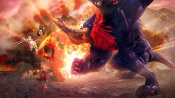 Hyrule Warriors | Beast Ganon Rumble
