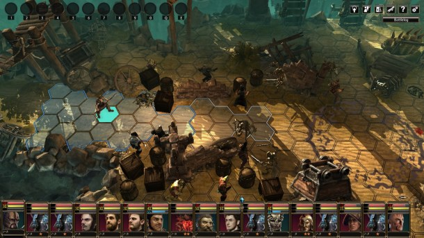 Blackguards 2 | Battle