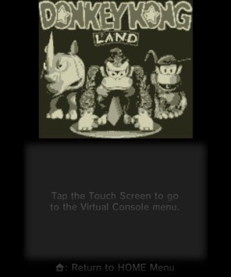 Donkey Kong Land - Title Screen