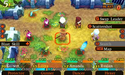 Etrian Mystery Dungeon Screenshot 4