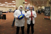 The venerable Dr. Light and Dr. Wily