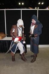 Edward Kenway and Arno Dorian
