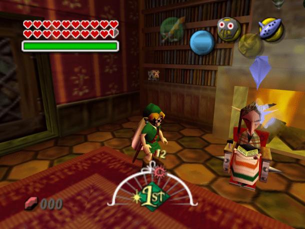 The Legend of Zelda: Majora's Mask | Anju's Grandmother