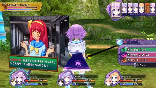 Neptunia Re;Birth1 | Combat
