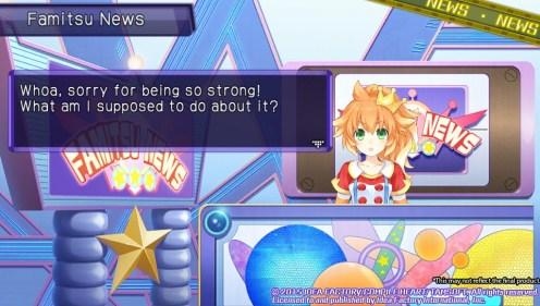 Neptunia U   Famitsu Strong