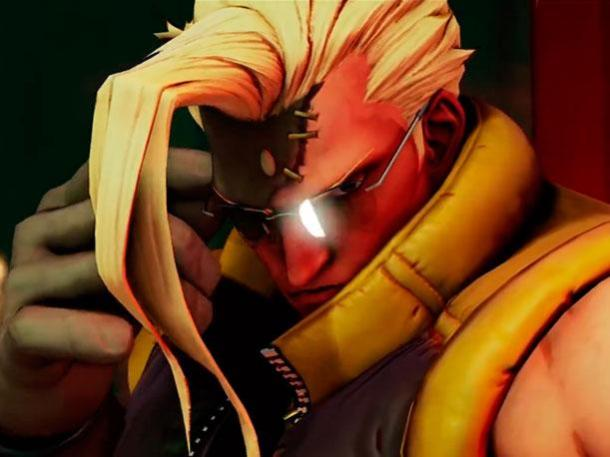 Street Fighter V Charlie in-game render