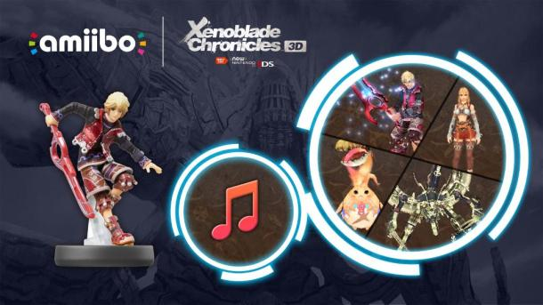 Xenoblade Chronicles 3D - Shulk Amiibo