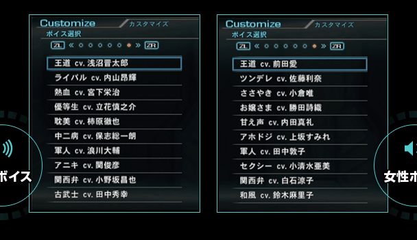 Xenoblade Chronicles X Character Custom voices Actors